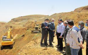 بازدید امیرحسین نادری از فولاد کردستان